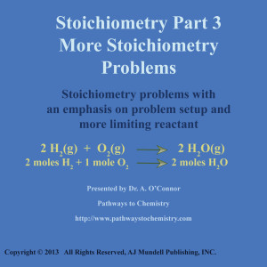 Stoichiometry Part 3